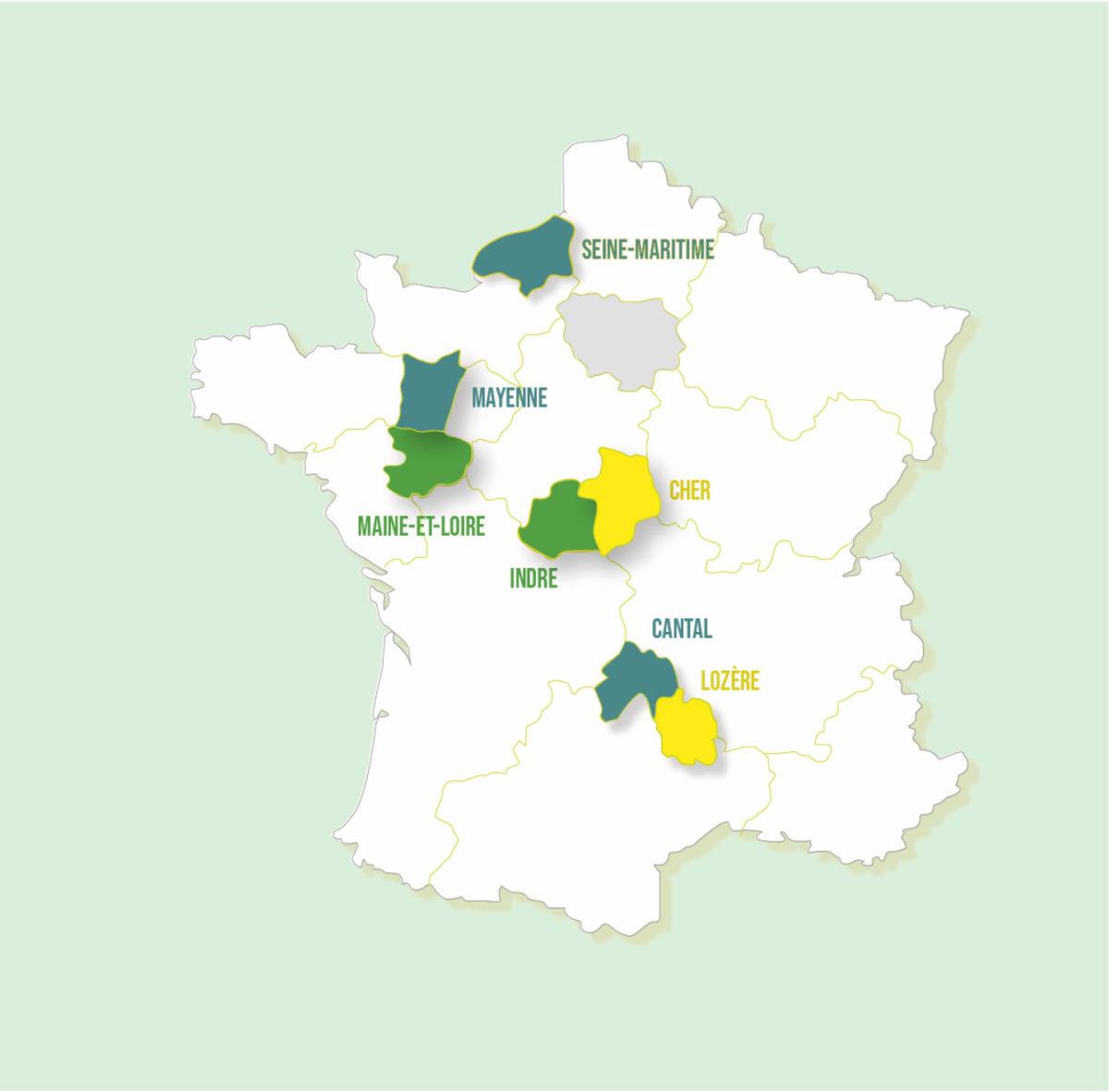 Le programme EMILE intègre 3 nouveaux territoires